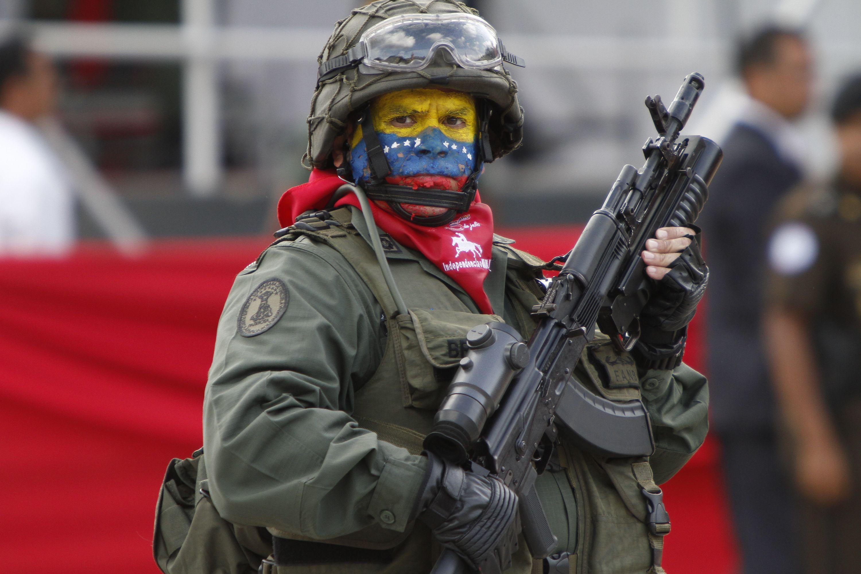 Подготовка интервенции в Венесуэлу идёт полным ходом