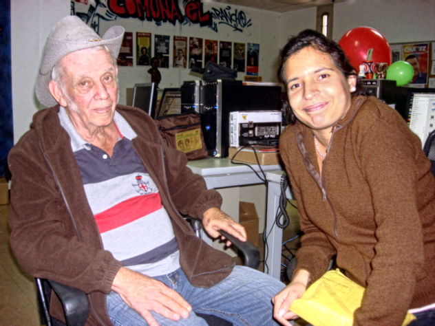 León y Nadesjka Landaeta