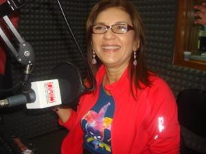 Jacqueline Faría este viernes (Foto: Daniel Liendo)