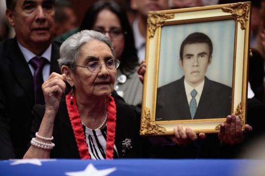 Zenaida Mata, madre de Noel Rodríguez