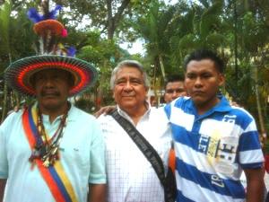 Portillo junto a Saino y Alexander Fernández, ambos asesinados.