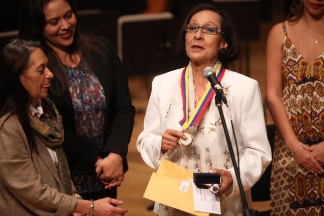 Aura Rivas fue entrevistada en La Bodega Cultural (Archivo AVN)