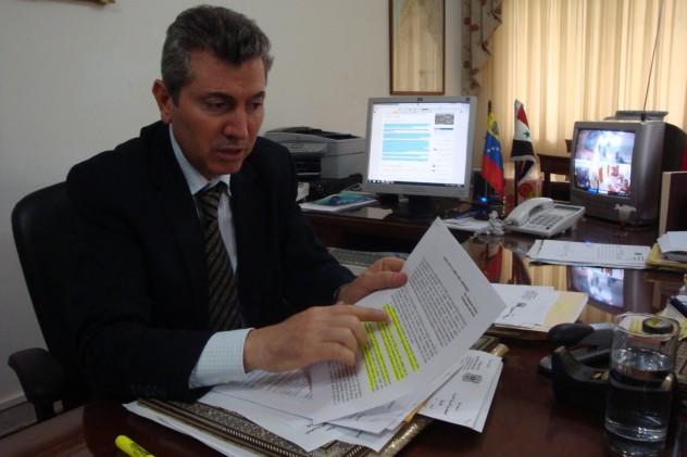 Embajador, Dr. Ghassan Abbas (Fuente: Blog de Basem Tajeldine)
