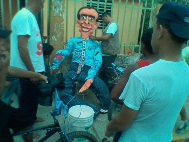 En Maracaibo. Foto: @marxadentro