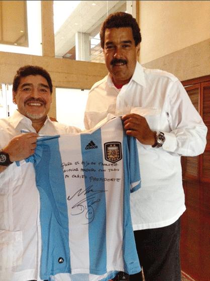 Maradona-Maduro