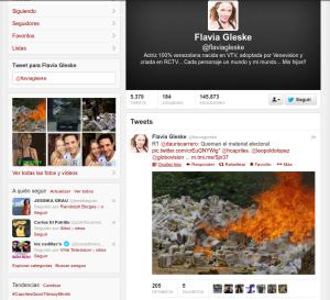Pantallazo-Flavia Gleske (flaviagleske) en Twitter - Mozilla Firefox