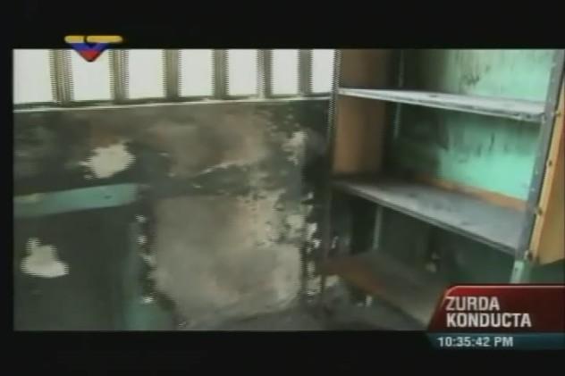 Daños en escuela Raúl Leone del estado Zulia