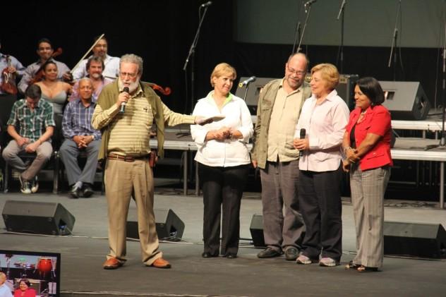 ministras-Sader-Hanson-Calzadilla-gladys-requena