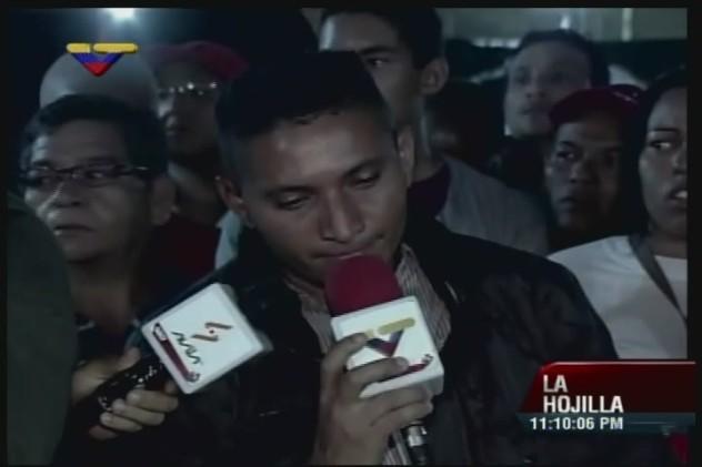 Ricardo Ponce, hermano del joven asesinado el lunes