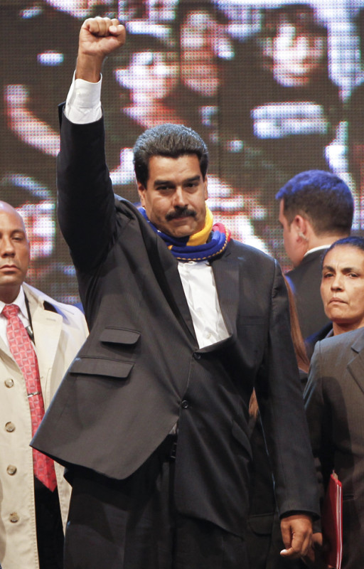 PRESIDENTE DE VENEZUELA, MADURO, VISITA ARGENTINA