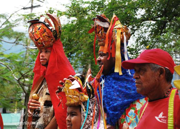 Diablos Danzantes de Patanemo. Foto: Inger Montoya