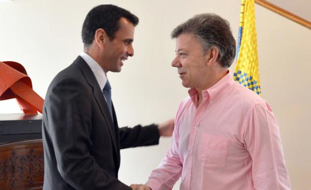 Foto oficial publicada por el sitio web de la Presidencia de Colombia
