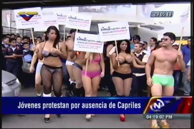se-desnudaron-contra-capriles