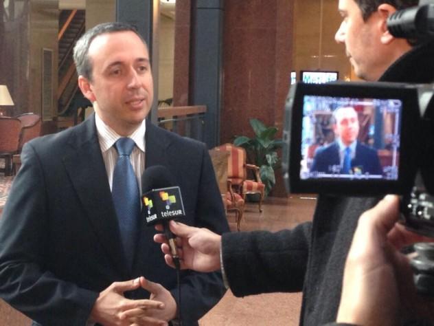Barbarito también fue entrevistado este jueves por Telesur. Foto: José Jesús Gómez (@musicayletra)