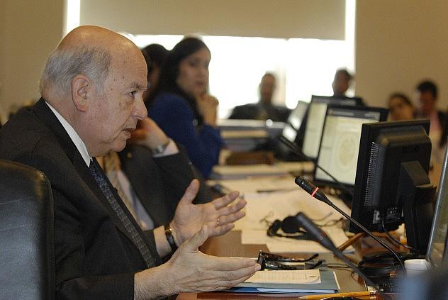 José Miguel Insulza este martes (Foto: Prensa OEA)