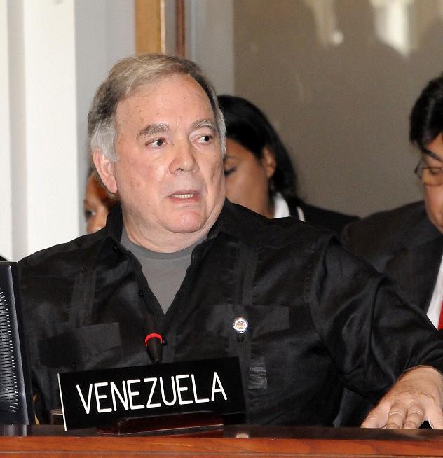 Roy Chaderton este martes (Foto: Prensa OEA)