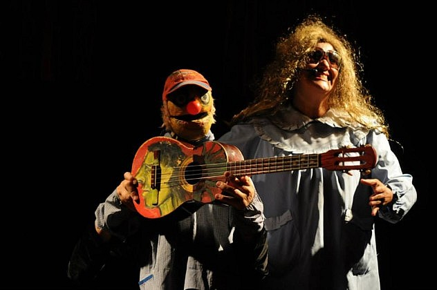 Títeres a los Cuatro Vientos, por la Compañía Los Cuatro Vientos (Argentina)  en el Teatro Eulalia Buroz, Mamporal, Municipio Buroz, Miranda. Foto: Arturo Moreno