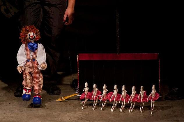 Compañía La Carreta (Táchira)  en el Teatro ArteNativo. Fotos: Arnaldo Utrera