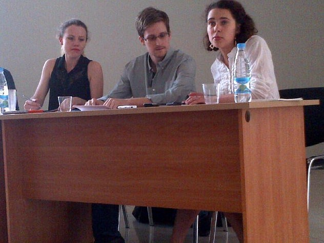 Foto tomada por Tanya de Human Rights Watch Rusia, presente en la reunión