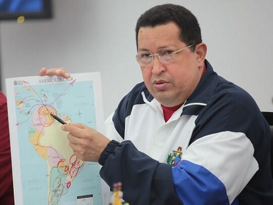 El Presidente Chávez luchó en vida por la incorporación de Venezuela al Mercosur (Archivo)
