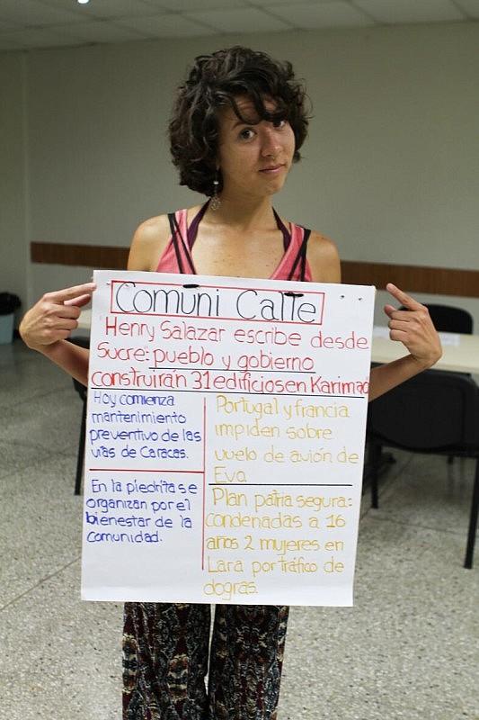 Comunicalle se inspira en experiencias de teatro participativo, social y político. Foto: Minci