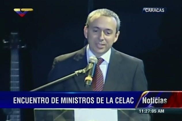 Ministro del Poder Popular para la Cultura, Fidel Barbarito