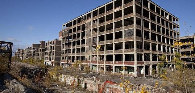 Planta abandonada en Detroit | Albert Duce (CC)