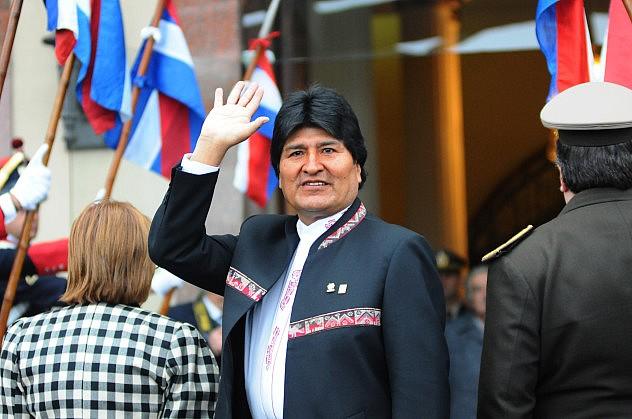 Evo Morales. Foto: Manaure Quintero