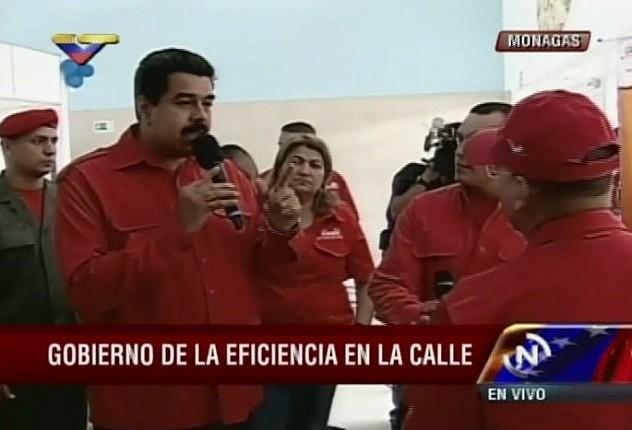 Las declaraciones de Maduro se produjeron este martes en Maturín.