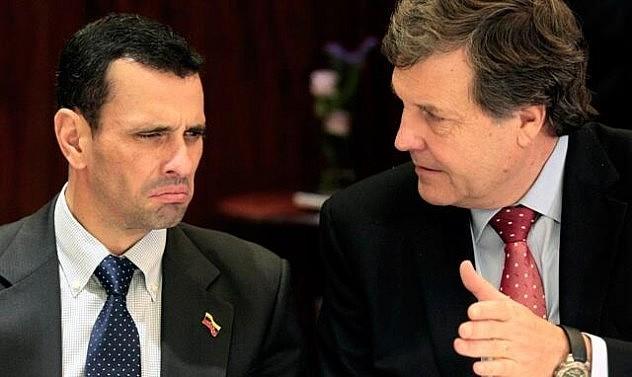Capriles reunido con Patricio Melero Abaroa