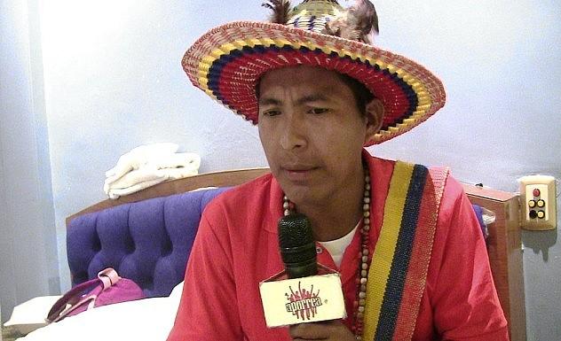 Sabino Romero hijo (Foto: Aporrea)