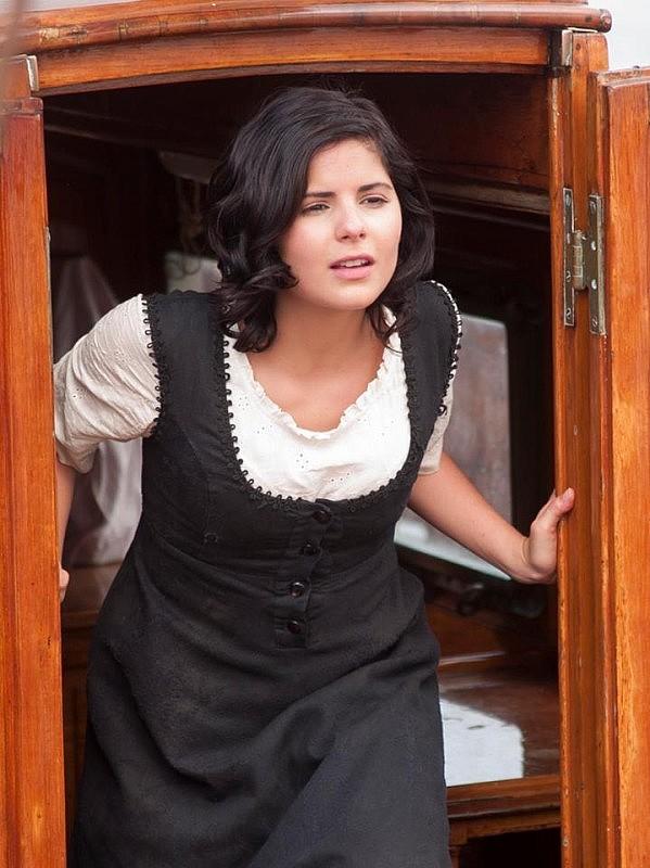 "Samantha Dagnino interpreta a ""Pepita"", una de las amantes de Bolívar."
