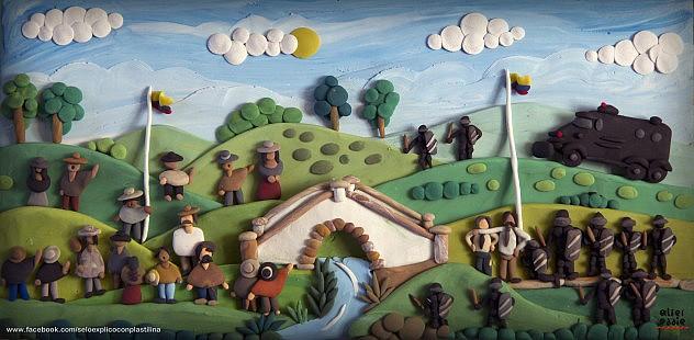 Batalla de Boyacá. Foto: Alter Eddie vía Flickr / Facebook.com/SeLoExpliconConPlastilina