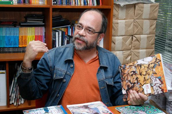 Pedro Calzadilla,  ministro de Cultura a comienzos de este año (Foto: Archivo/Correo del Orinoco)