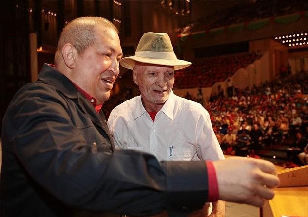 Chávez y Mauro de Catia