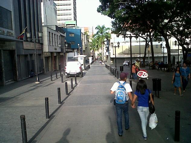 Por esta avenida, en la plaza El Venezolano, se realizarán parte de los actos. Foto: Fidel Barbarito