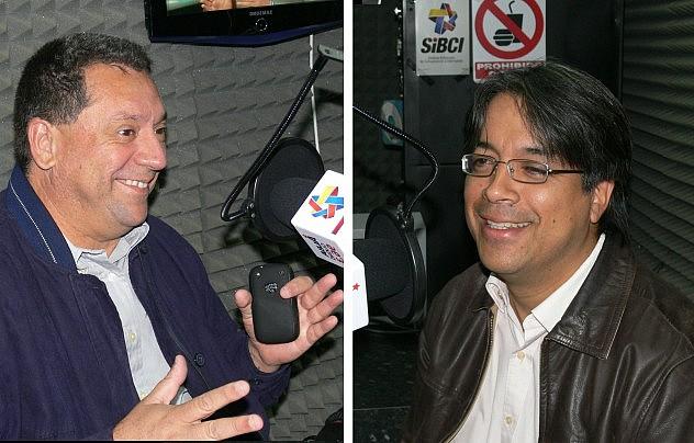 Viceministros Omar Vielma (izq-) y Néstor Viloria (Archivo/MPPC)
