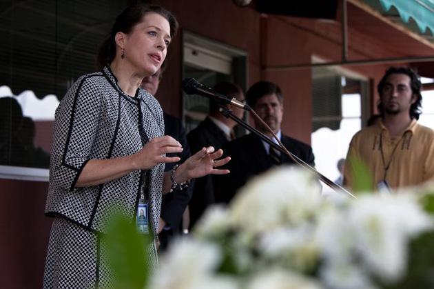 Kelly Keirderling, encargada de negocios estadounidense en Venezuela, es una de las personas expulsadas. La semana pasada visitó el estado Bolívar, donde mantuvo  reuniones y dictó conferencias.