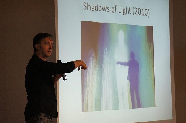 Una de sus exposiciones, realizadas en 2009. Foto: L. Bracci