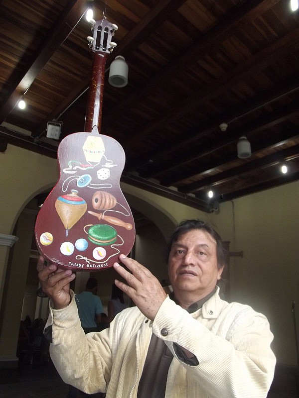 FREDDYONTIVEROS_Y SU PROPUESTA DE CUATRO EXALTANDO LOS JUEGOS TRADICIONALES