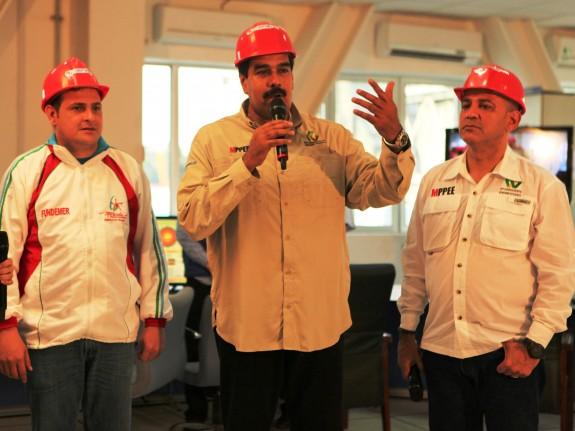 El presidente Maduro está encabezando personalmente las acciones para el restablecimiento eléctrico