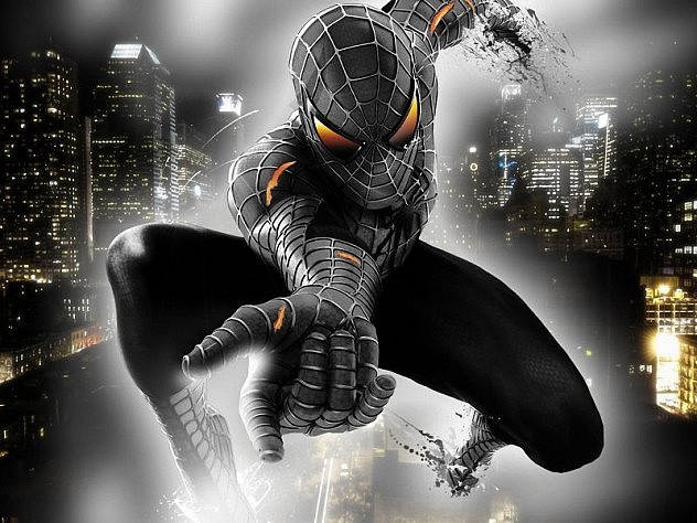 Spiderman Black_800