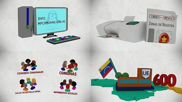 Capturas de la animación hecha en software libre en sólo 24 horas