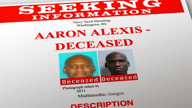 Aaron Alexis. Fuente: FBI/RT