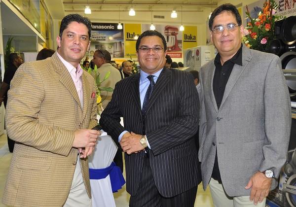 Rodolfo Millán, Benjamín Rausseo y Guillermo Archila