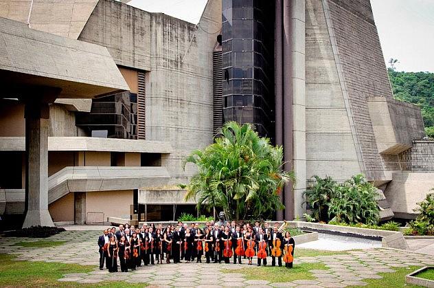 La Orquesta Filarmónica Nacional (Foto: VenezuelaSinfonica.com)