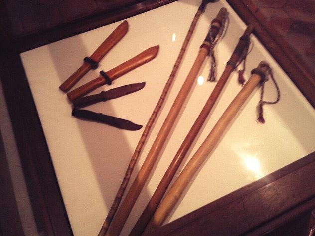 El Garrote forma parte del quehacer artesanal larense y es un método corporal defensivo. Foto: @mppculturalara