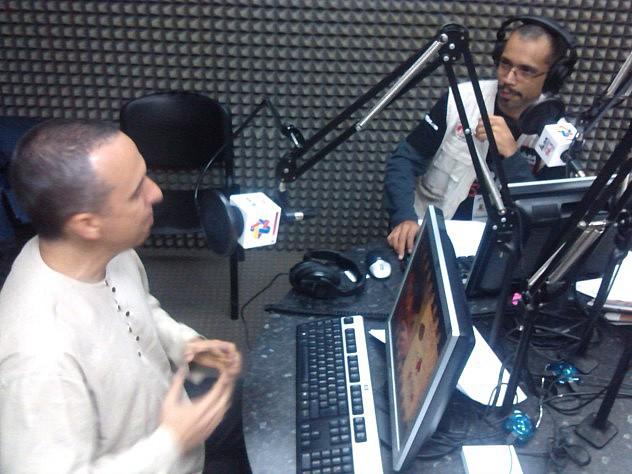 Barbarito entrevistado esta tarde en Alba Ciudad