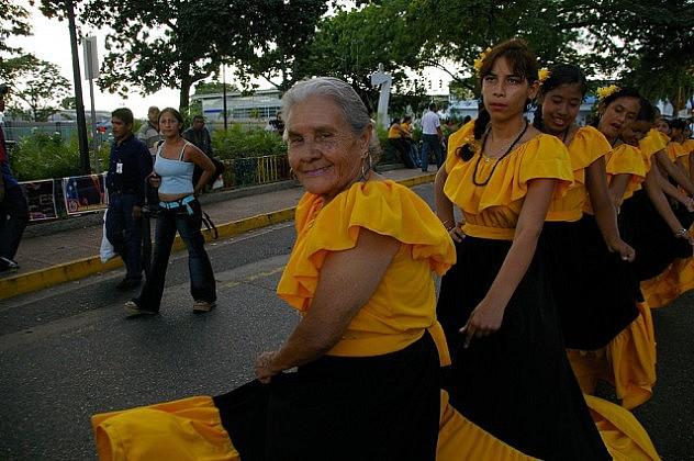 Columba Salazar de Rodríguez (1era. a la izquierda) falleció como consecuencia de un paro respiratorio. Contaba con 89 años de edad.