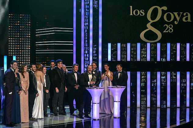 SPAIN-CINEMA-GOYA-AWARDS